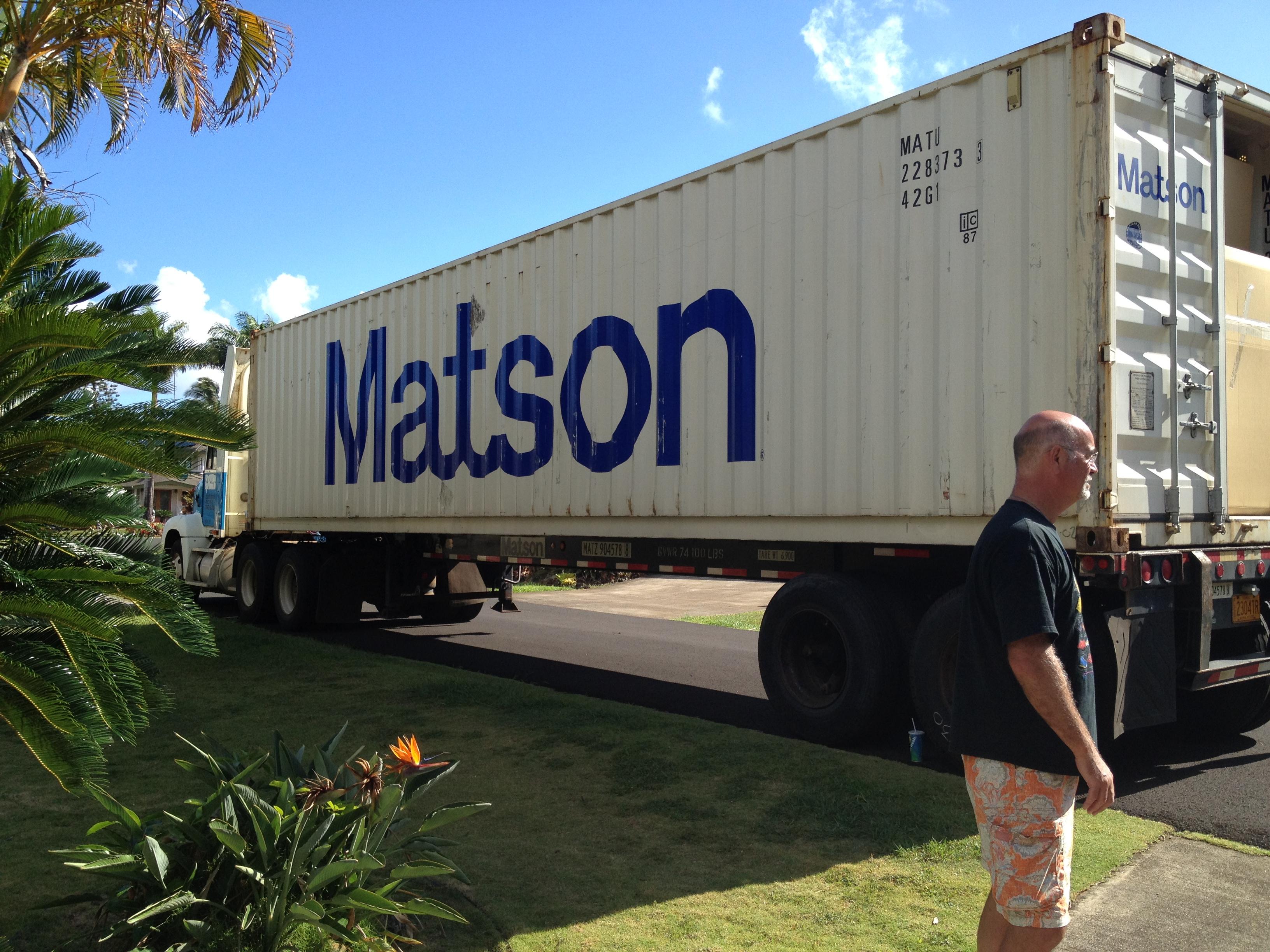 The metamorphosis from house to home kauai greenhorn - Matson container homes ...