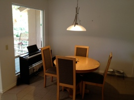 Dining area August 2012