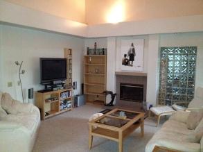 Living room August 2012